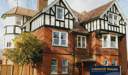 Lulworth House Residential Care Home Maidstone