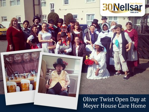 Oliver Twist Open Day at Meyer House Care Home