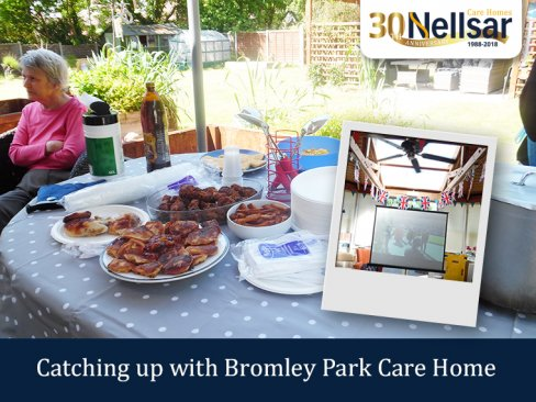 Catching up with Bromley Park Care Home – Royal Wedding