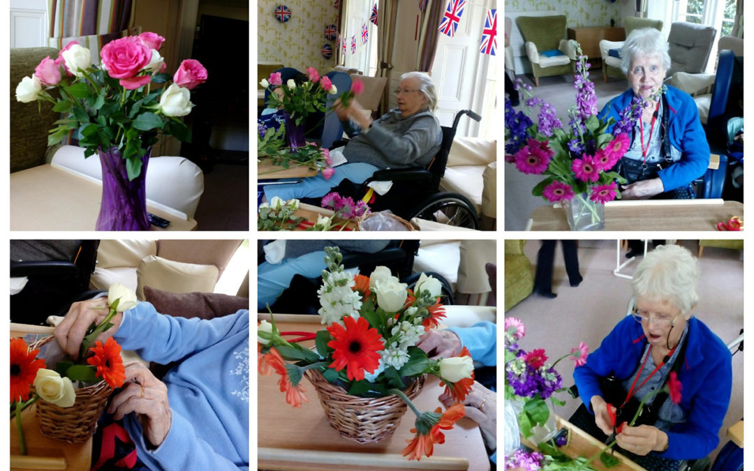 Chelsea Flower Show arrives at Loose Valley Care Home
