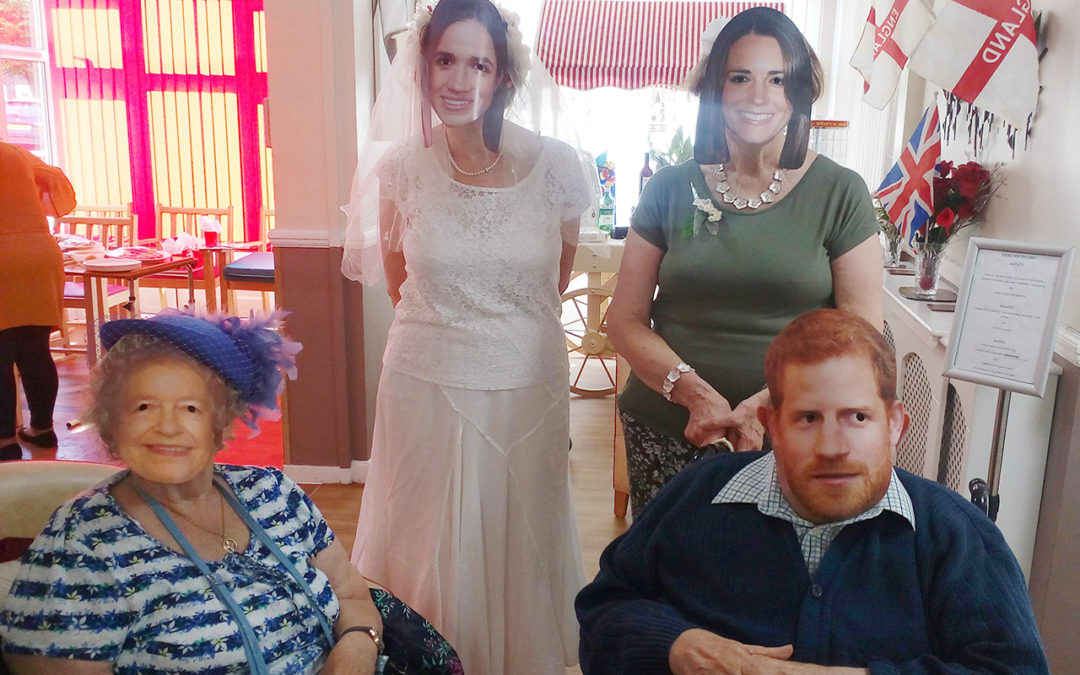 The Royal Wedding at Meyer House Care Home