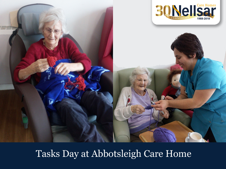 Tasks Day at Abbotsleigh Care Home – 11th April 2018