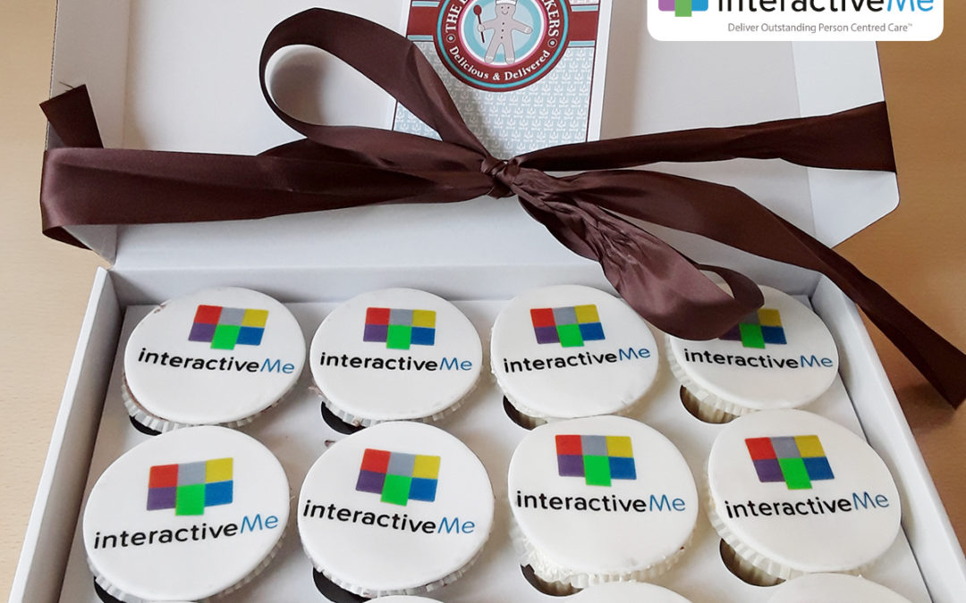 Abbotsleigh Care Home receives interactiveMe Care Home of the Month cakes