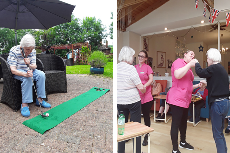 New Putting Green at Bromley Park Care Home