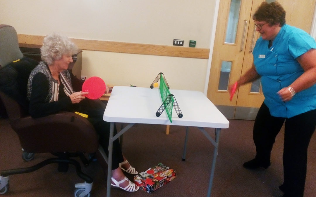 Fun and games at Hengist Field Care Home