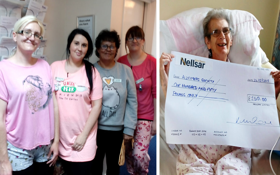 Loose Valley Care Home Hosts a PJday for Alzheimer's!