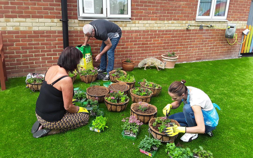 Open Garden Day at Lukestone Care Home