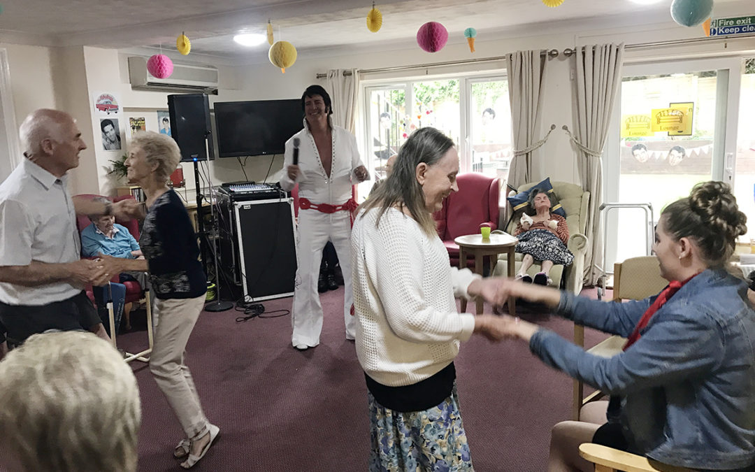 Rock n Roll at Lulworth House Residential Care Home