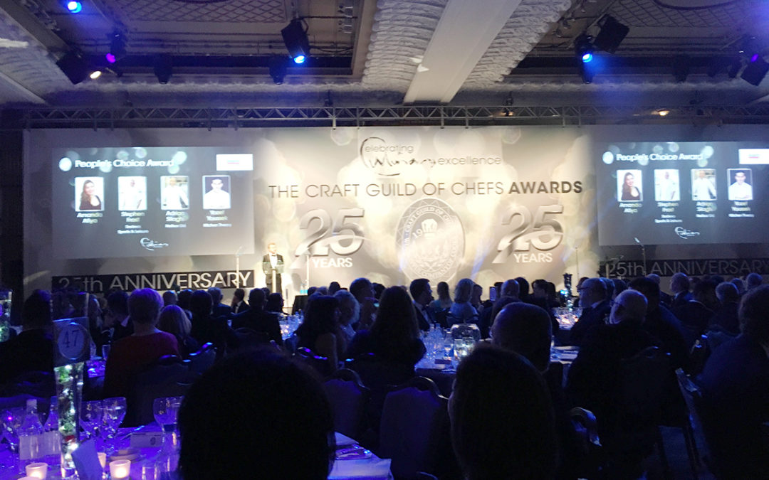 Princess Christian Head Chef is a finalist in Craft Guild of Chefs Awards