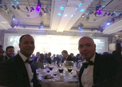 Manager and Head Chef from Princess Christian Care Home at The Craft Guild of Chefs Awards