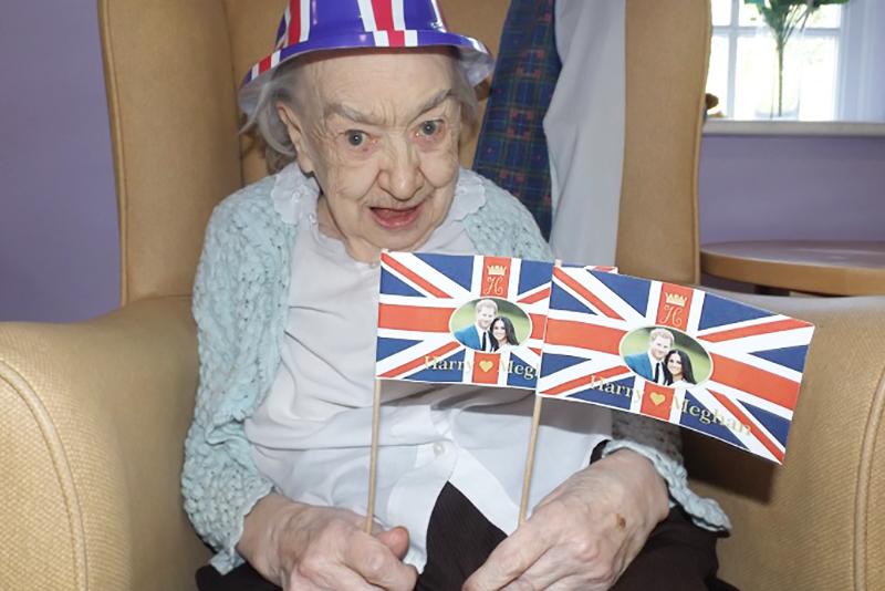 May Celebrations at Princess Christian Care Home