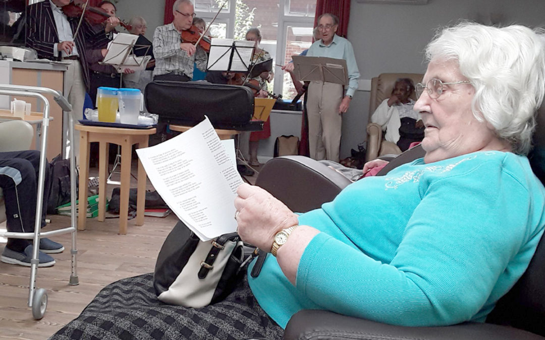 From cakes to choir at Abbotsleigh Care Home