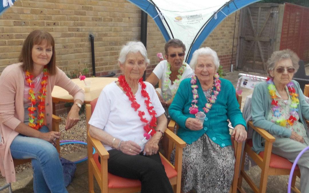 Hawaiian Fun at Woodstock Residential Care Home
