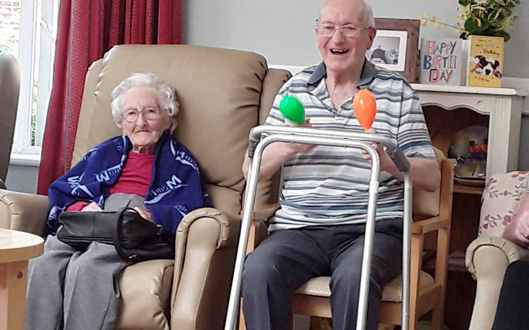 From green fingers to grilled chicken at Abbotsleigh Care Home