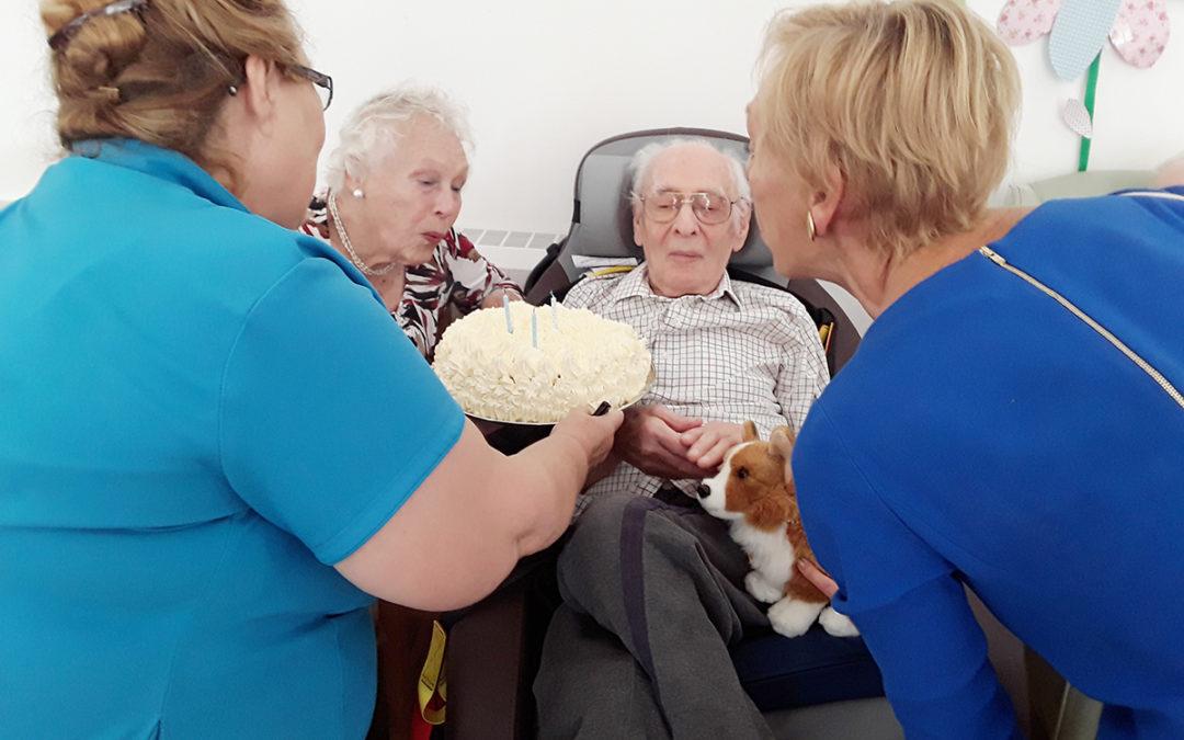 Bingo and birthdays at Abbotsleigh Care Home