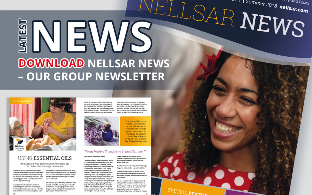 Nellsar Care Homes launch group newsletter