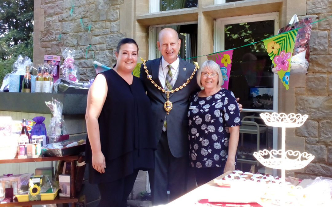 Loose Valley Recreation & Well-Being Champion with Councillor David Naghi