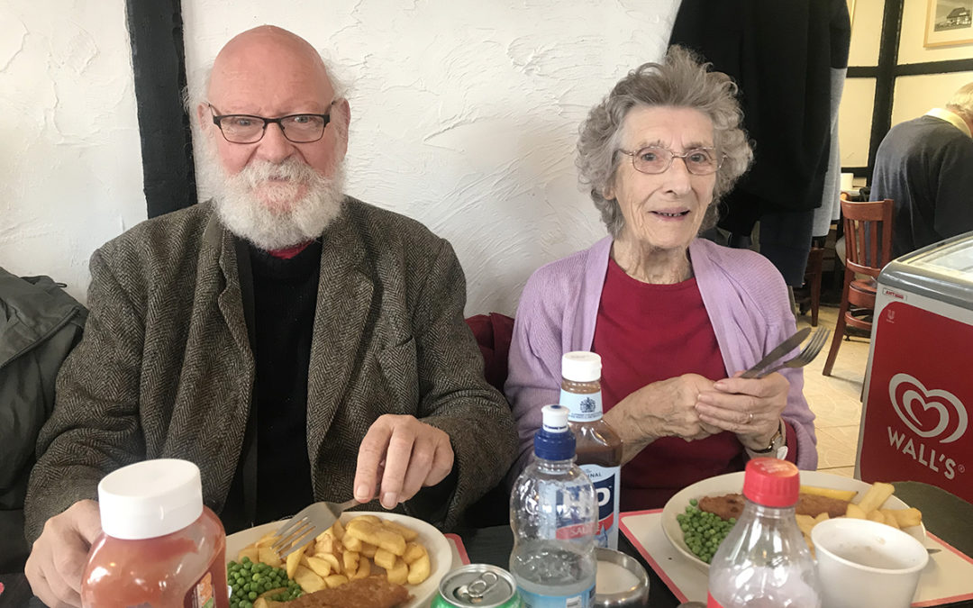 Lulworth House Residential Care Home residents take a trip to Whistable