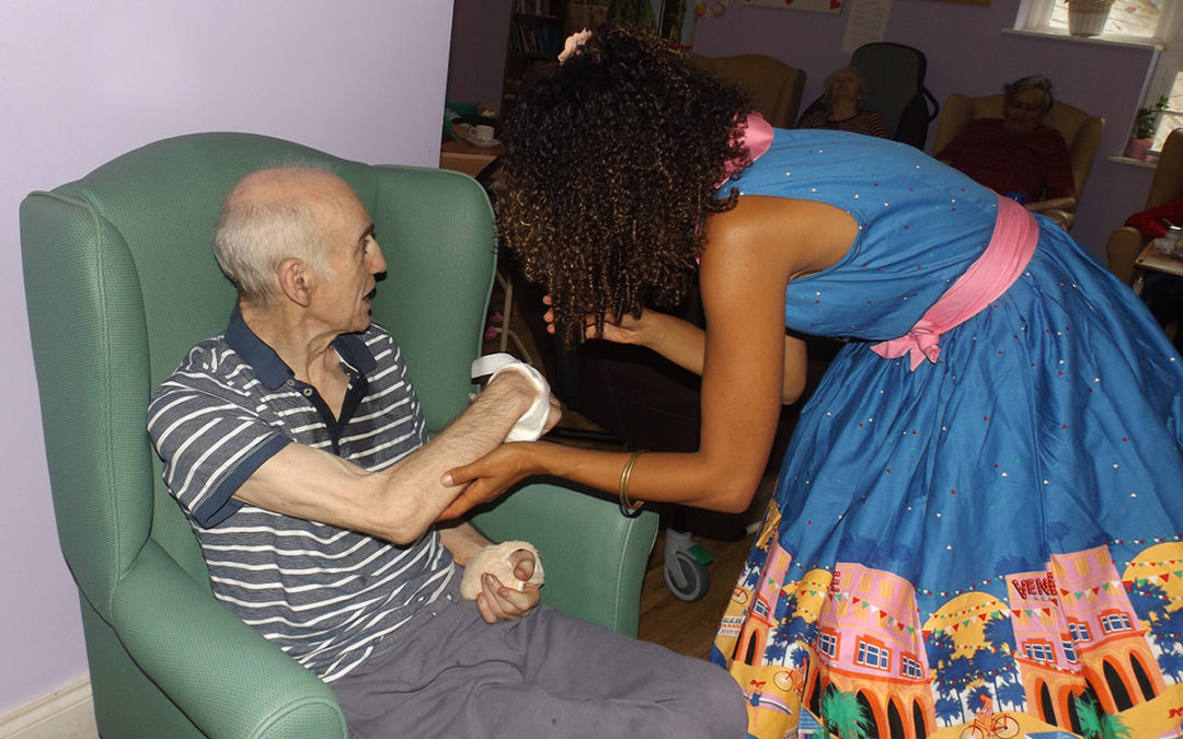 An iconic week at Princess Christian Care Home