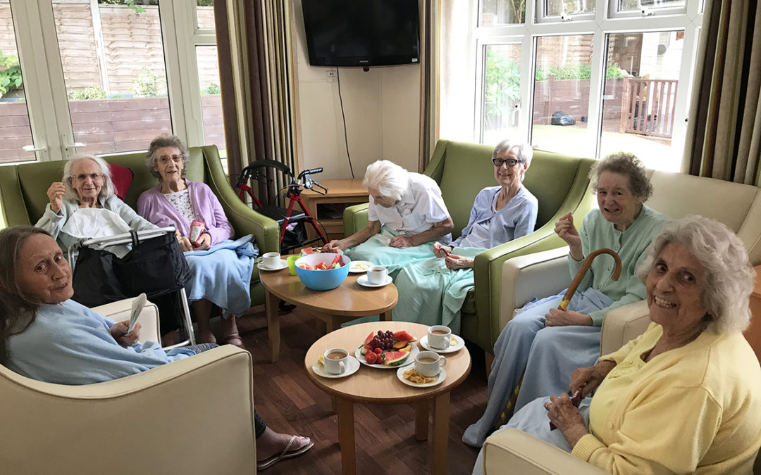 Ladies that bake…at Lulworth House Residential Care Home