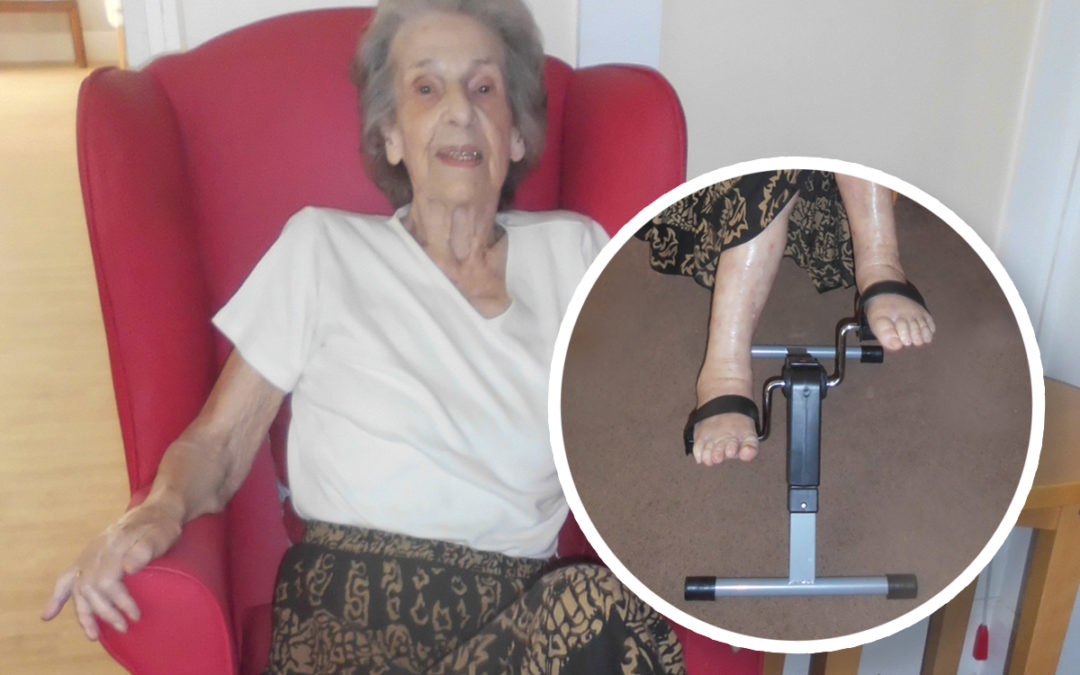 Woodstock Residential Care Home residents pedal to stay fit