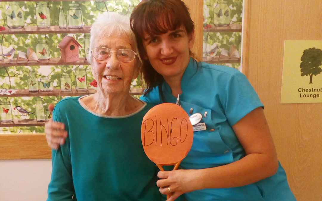 Bingo and baking at Hengist Field Care Home