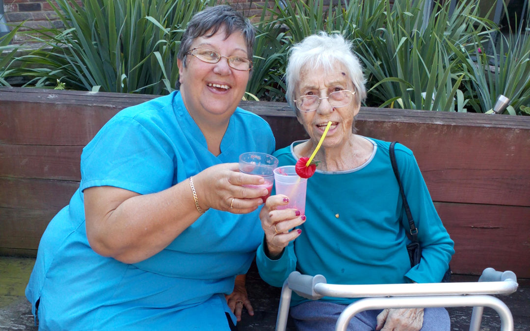 A cocktail of activities at Hengist Field Care Home