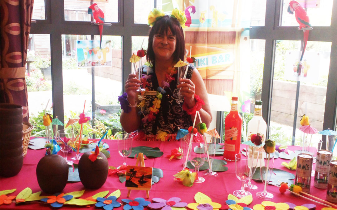 Tropical Island Day at Hengist Field Care Home