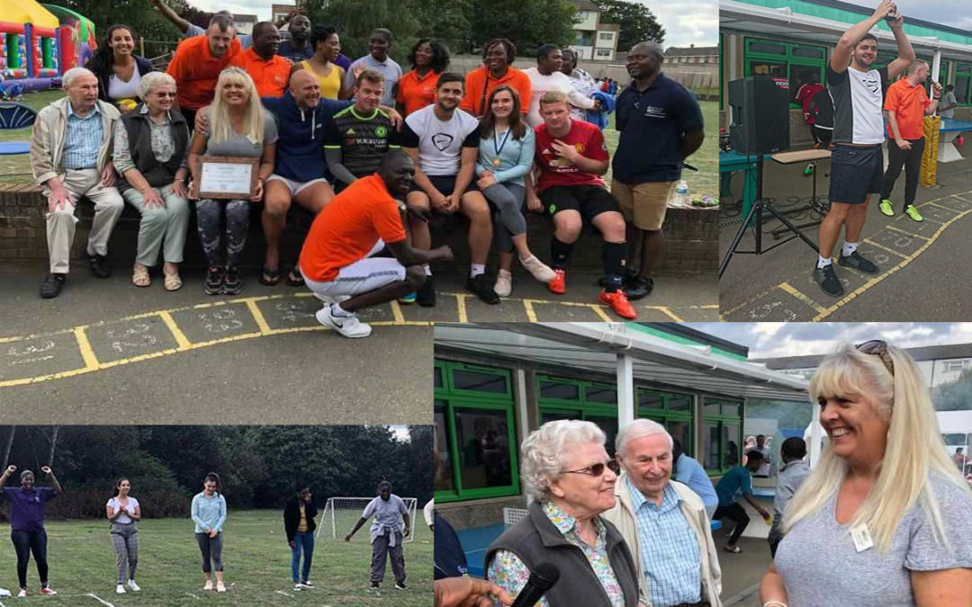 Sports Day fun with Princess Christian Care Home