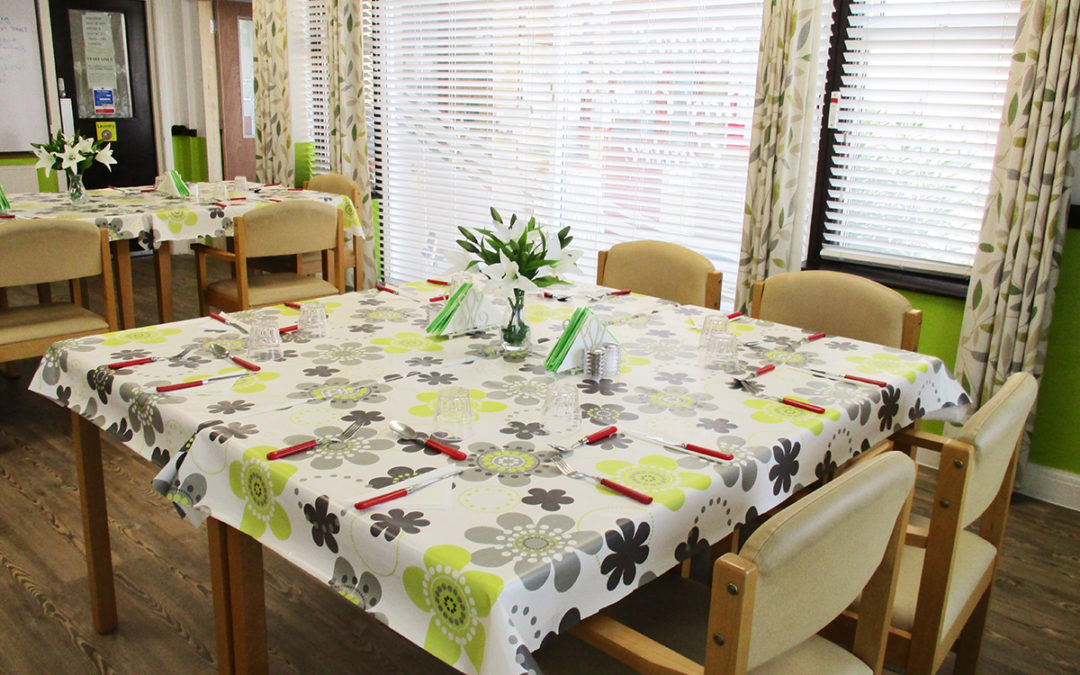 Restaurant refurbishments at St Winifreds Care Home