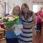 Vira the Recreation & Well-Being Lead at The Old Downs Residential Care Home with Home Manager Caroline Cheesman