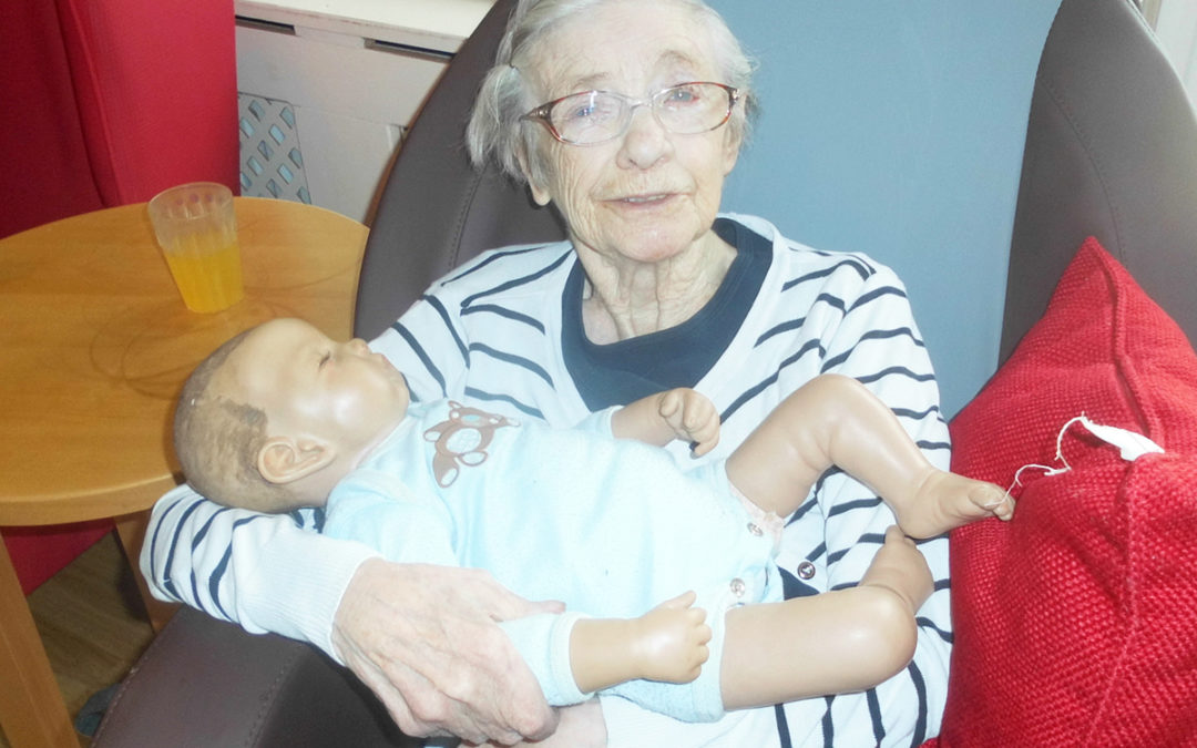 Woodstock Residential Care Home use Doll Therapy