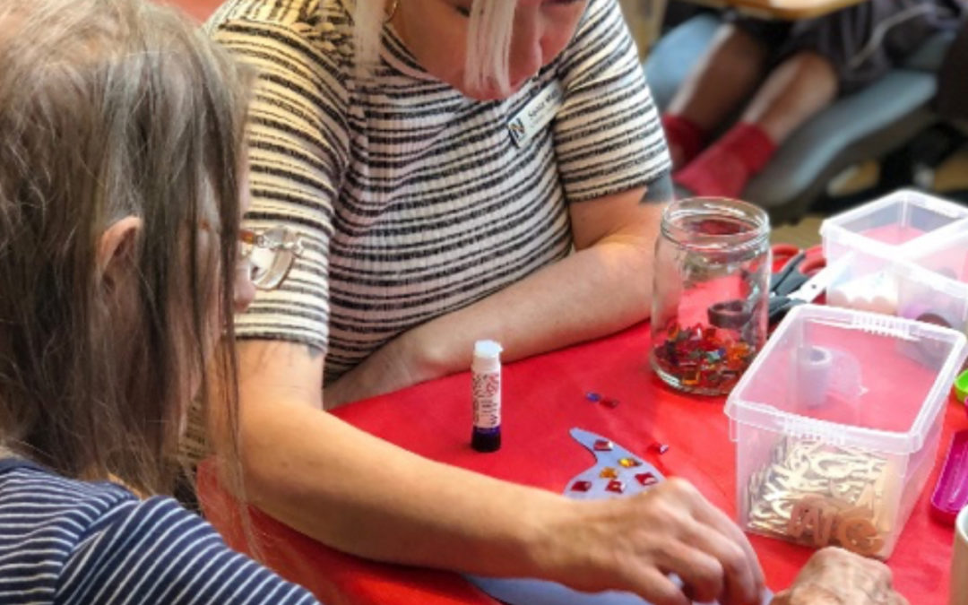 Halloween Crafts at Bromley Park Care Home