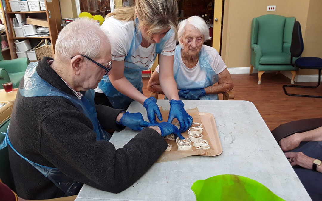 A month of music, dance and cakes at Princess Christian Care Home