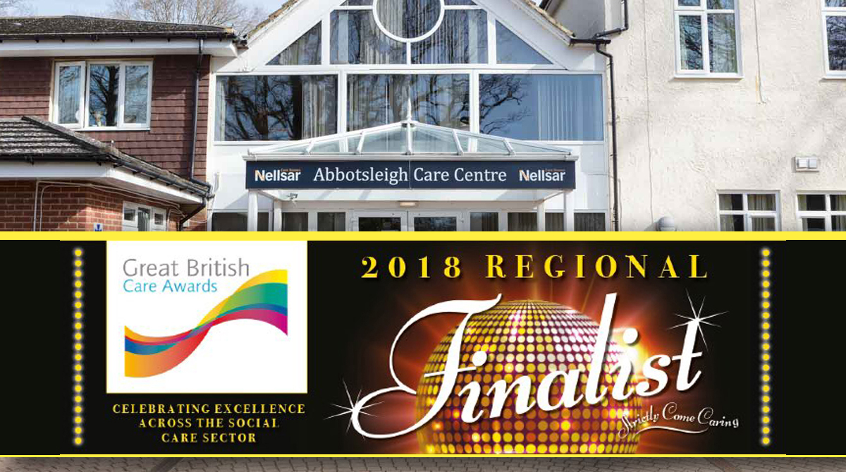 Abbotsleigh Care Home Care Awards Finalists