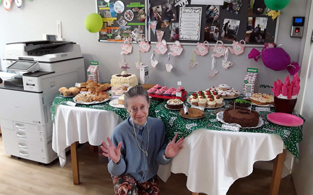 Fundraising for Macmillan Cancer Support at Abbotsleigh Care Home