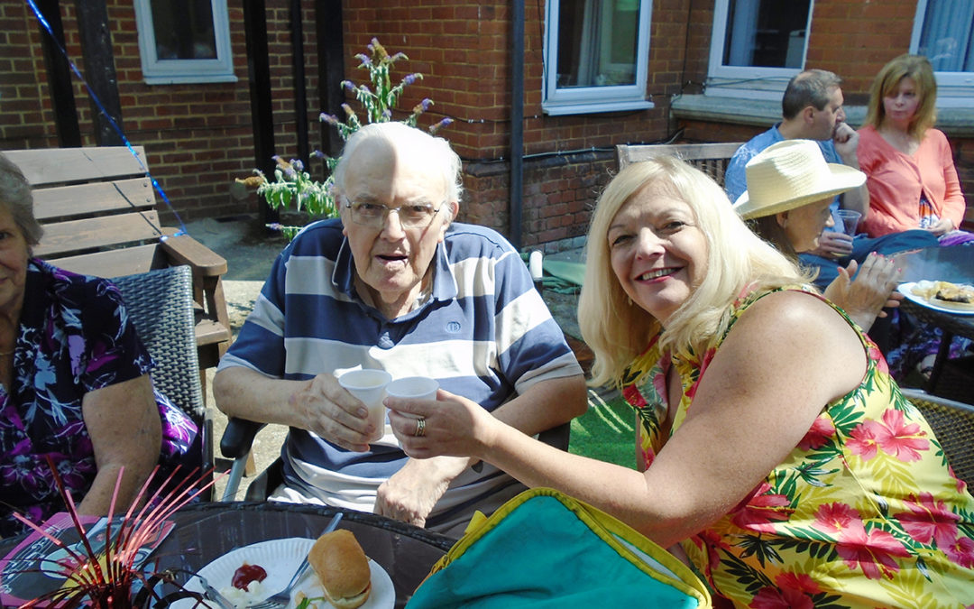 Summer throwback at Lulworth House Residential Care Home