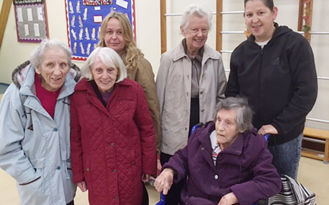 Harvest festival outing at The Old Downs Residential Care Home