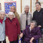 A group of Abbotsleigh residents at a local school to celebrate harvest festival