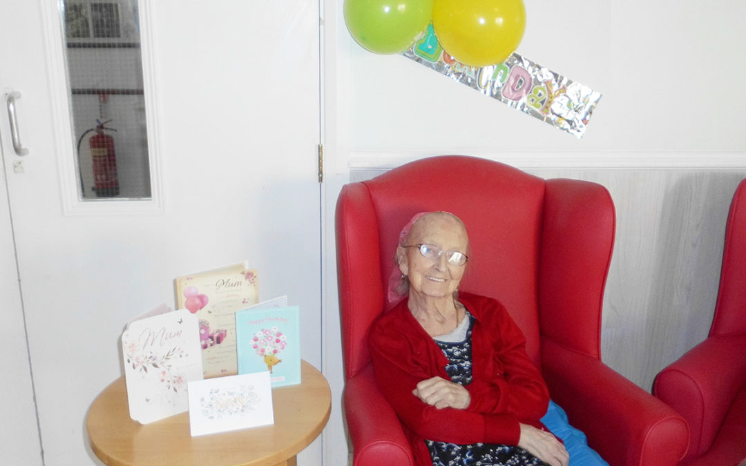 Happy birthday to Irene and Vera at Woodstock Residential Care Home