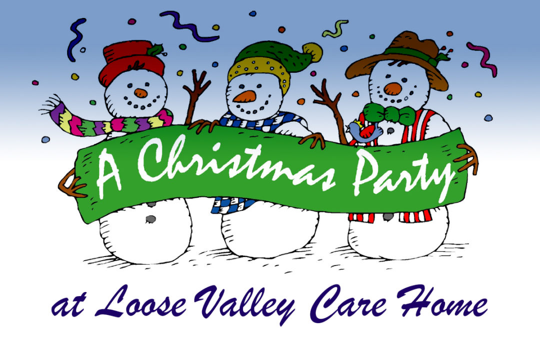 Loose Valley Care Home Christmas Party