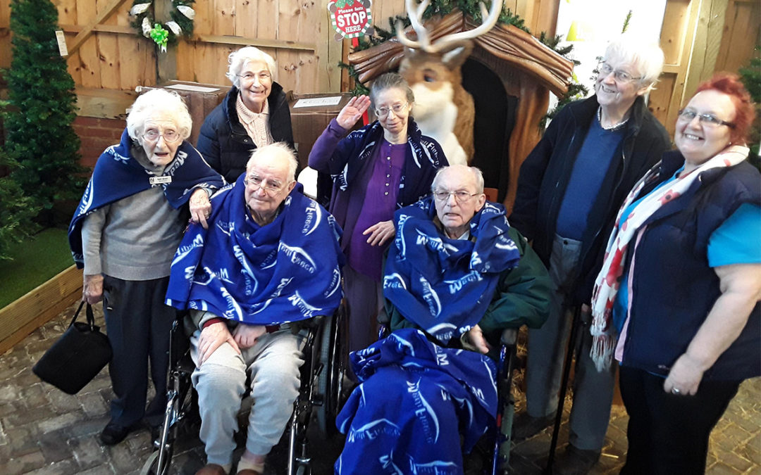 Festive filled outing at Abbotsleigh Care Home
