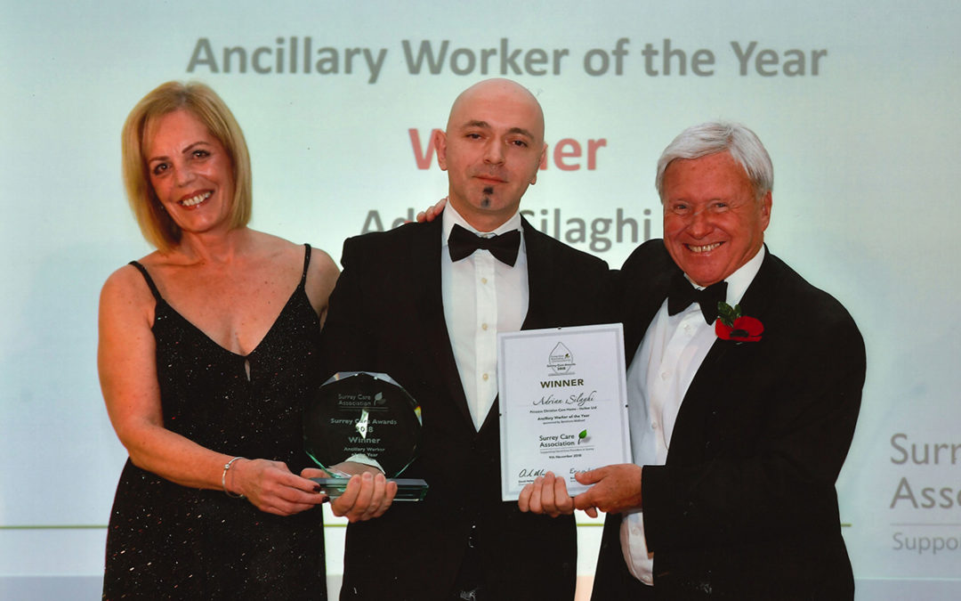 Adrian Silaghi awarded Ancillary Worker of the Year 2018