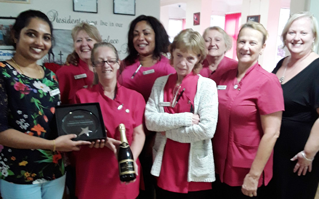 Meyer House Care Home are Champion Fundraisers