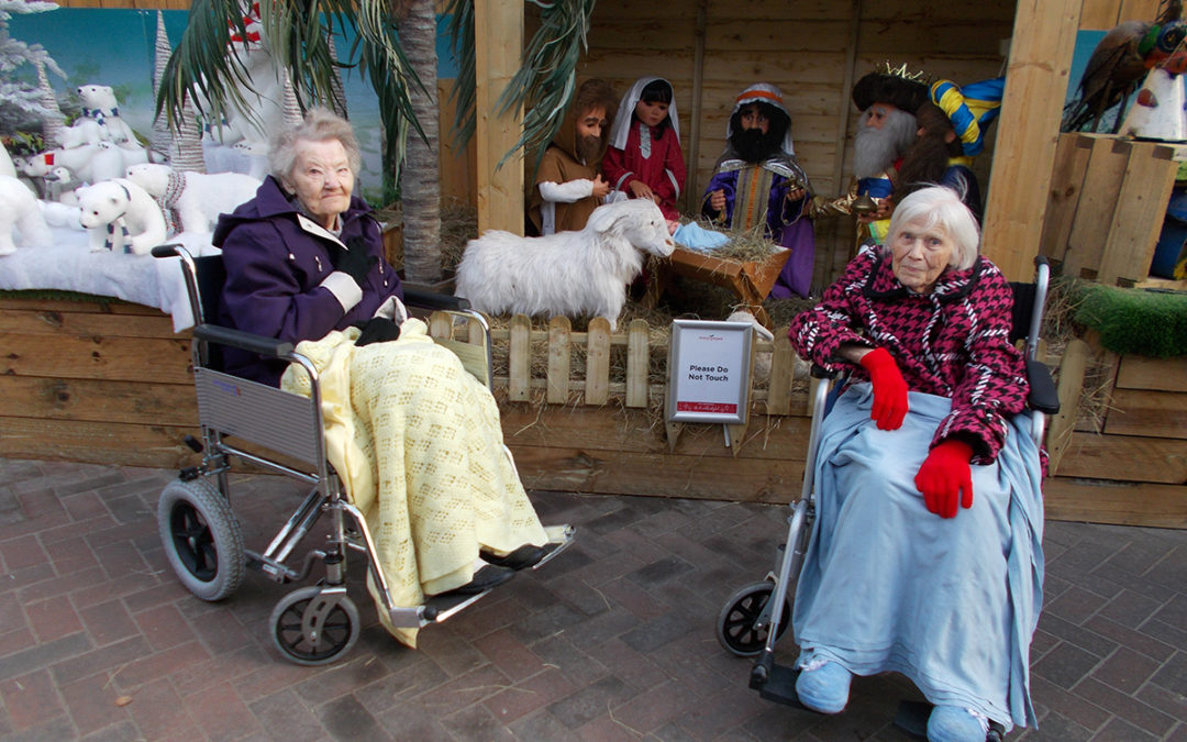 Festive displays and a spin on the ice at Sonya Lodge Residential Care Home