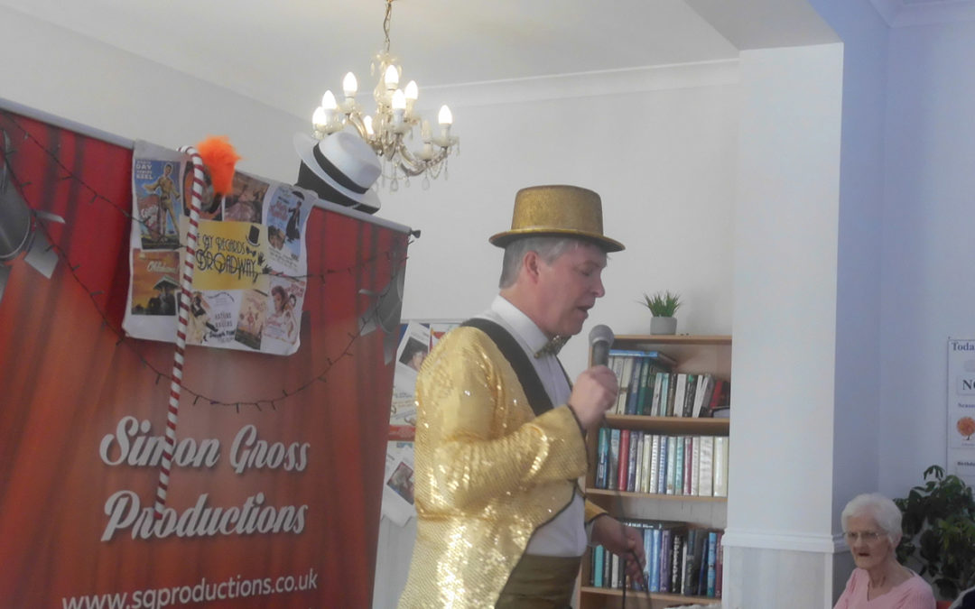 Simon Gross brings Broadway to Woodstock Residential Care Home