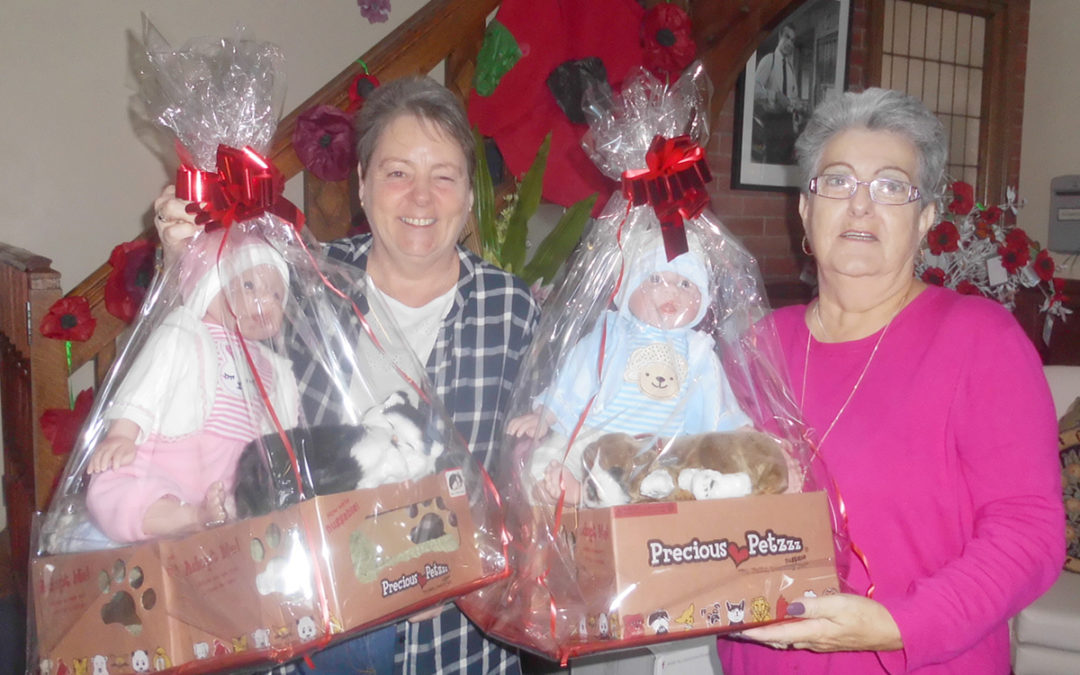 Woodstock Residential Care Home receive charity gifts