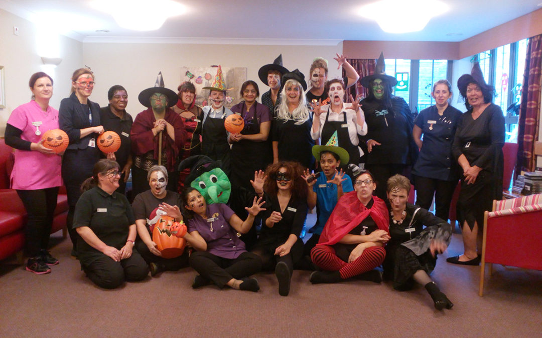 Halloween and Air Cadets come to Hengist Field Care Home