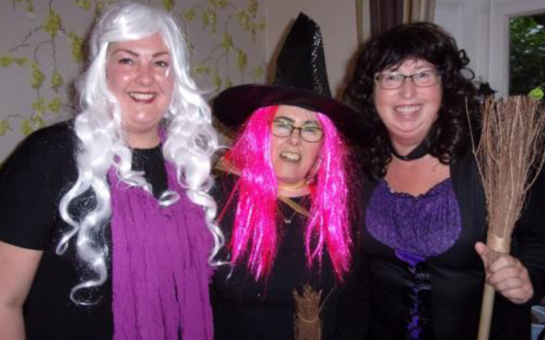 A haunting Halloween at Loose Valley Care Home