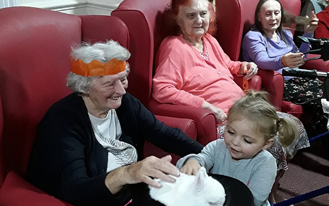 A Magical Halloween at Lulworth House Residential Care Home